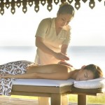 Spa out door massage