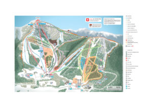 Club Med Tomamu Ski slopes Map