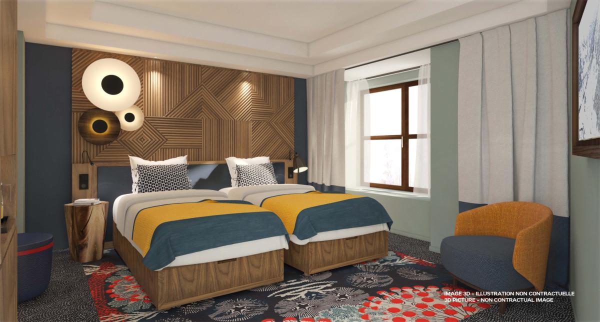 Club Med Tomamu Club room
